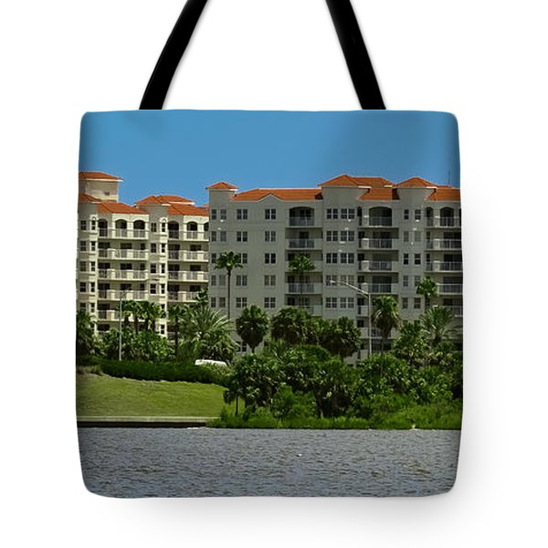 The Ormond Hotel Tote Bag by DigiArt Diaries by Vicky B Fuller