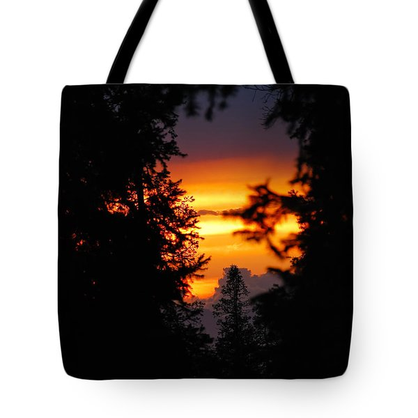 The Other Side Tote Bag by Syed Aqueel