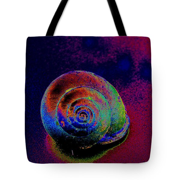 The Painted Shell Tote Bag
