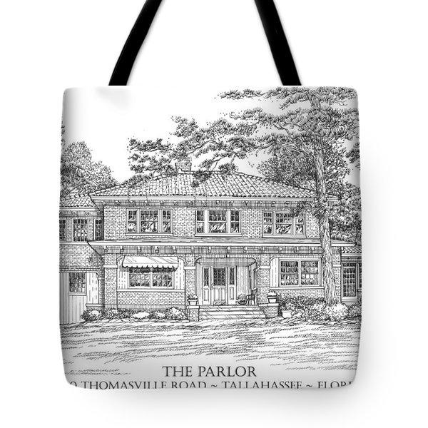The Parlor Tallahassee Florida Tote Bag