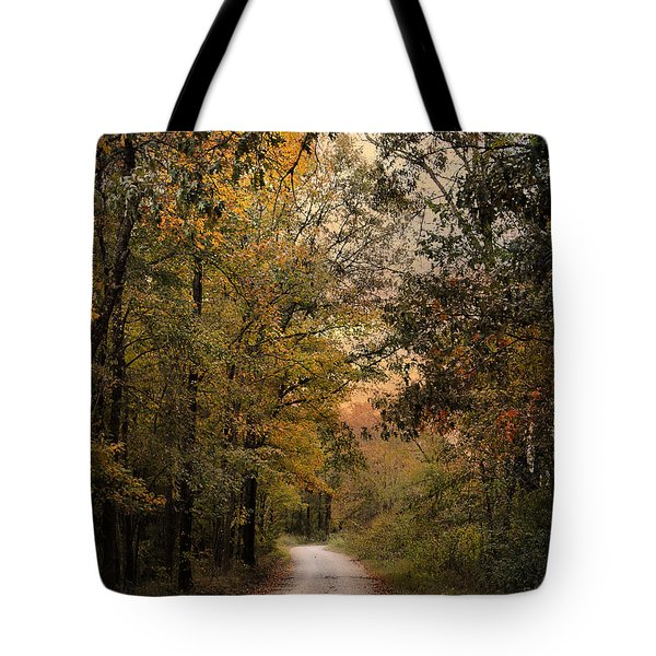 The Path Less Traveled 2 Tote Bag by Jai Johnson
