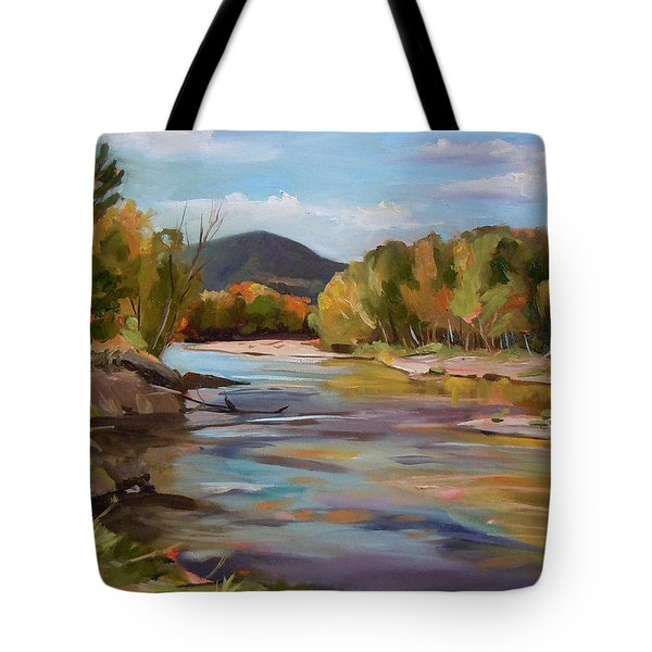 The Pemi In Autumn One Tote Bag