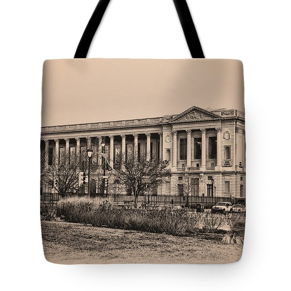 The Philadelphia Free Library Tote Bag by Bill Cannon
