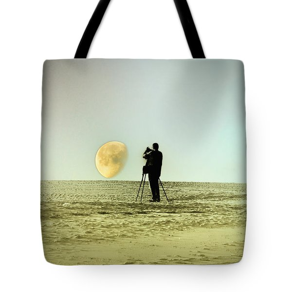 The Photographer Tote Bag by Bill Cannon