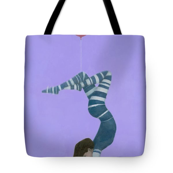 The Pink Balloon II Tote Bag