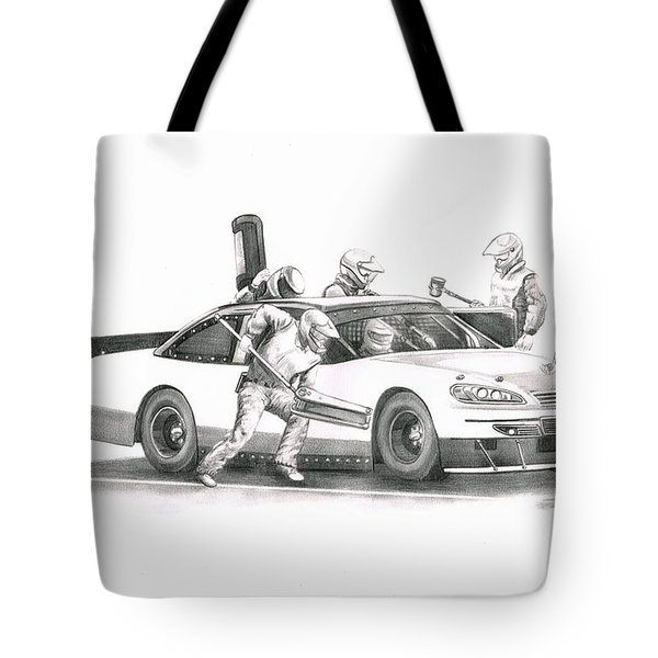 The Pitts  Tote Bag by Murphy Elliott