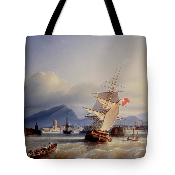 The Port Of Leith Tote Bag by Paul Jean Clays
