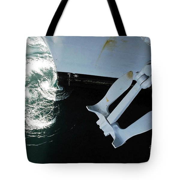 The Port Side Mark II Stockless Anchor Tote Bag by Stocktrek Images