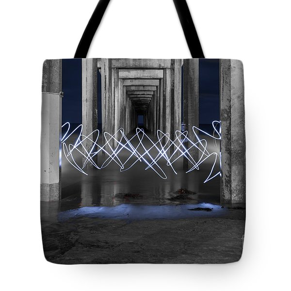 Tote Bag featuring the photograph The Portal by Sonny Marcyan
