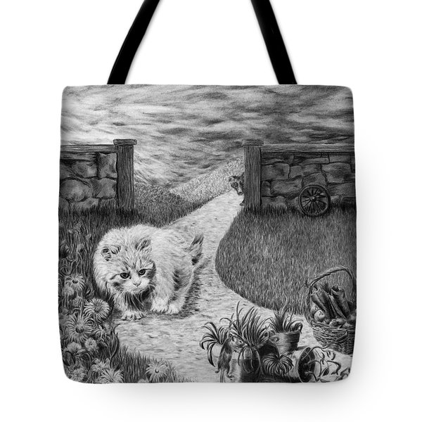 The Predator And The Prey Tote Bag