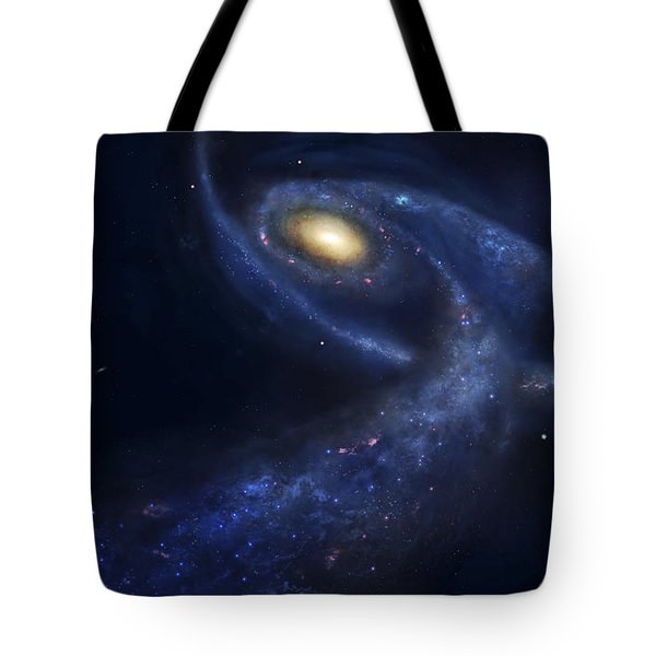 The Predicted Collision Tote Bag by Fahad Sulehria