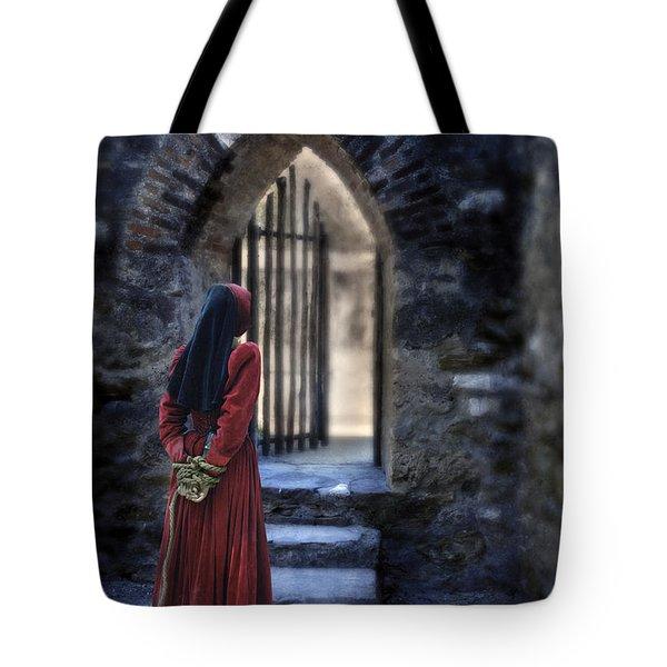 The Prisoner Tote Bag by Jill Battaglia