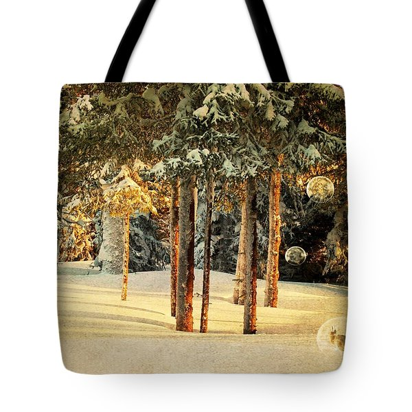 The Problem With Hares Tote Bag by Michele Cornelius