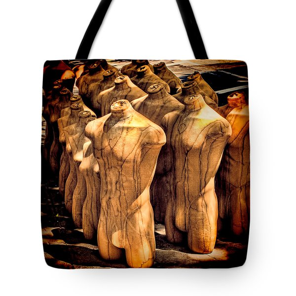 Tote Bag featuring the photograph The Protest by Chris Lord