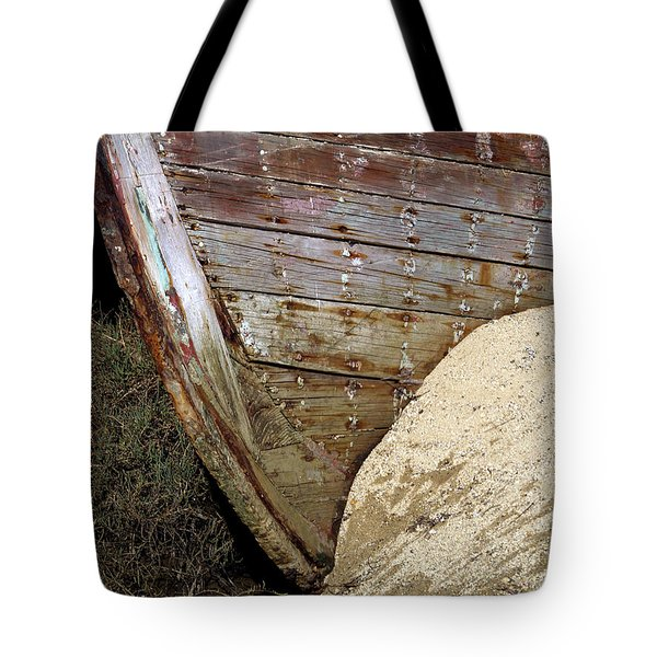 The Pt Reyes Abstract Tote Bag by Bill Gallagher