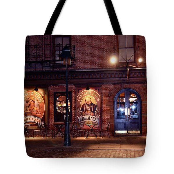 The Pub Tote Bag by Terry Wallace