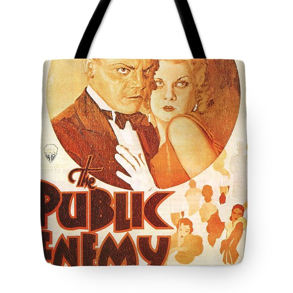 The Public Enemy Tote Bag by Georgia Fowler
