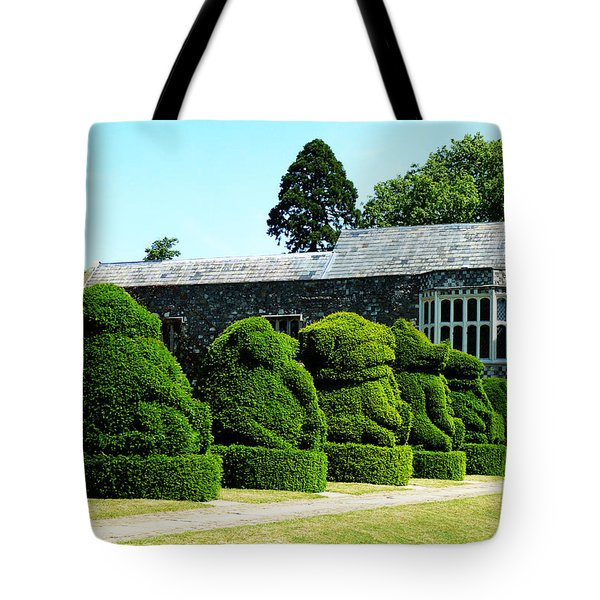The Queens Beasts Tote Bag by Steve Taylor
