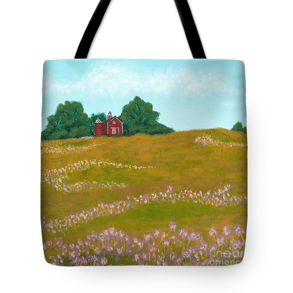 The Red Barn Tote Bag