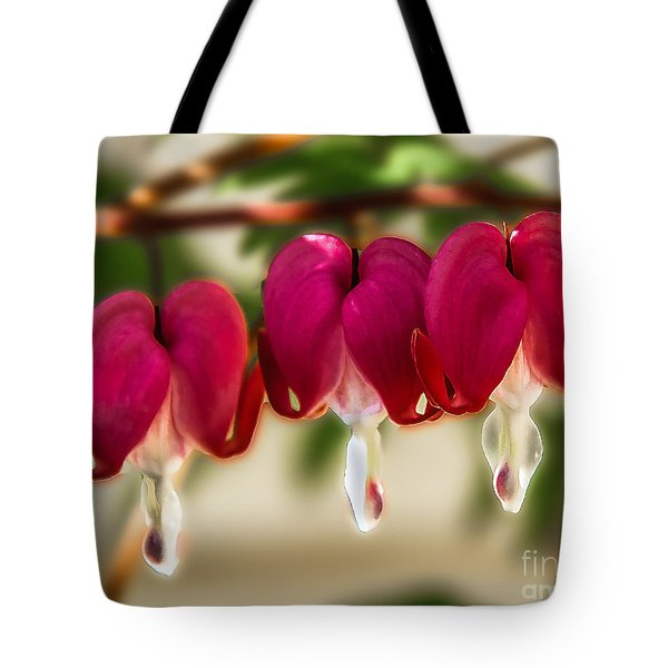 The Red Heart Tote Bag by Robert Bales