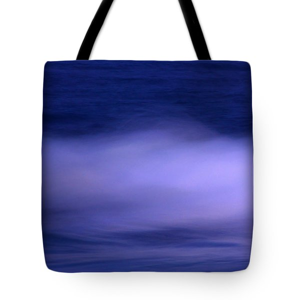 The Red Moon And The Sea Tote Bag