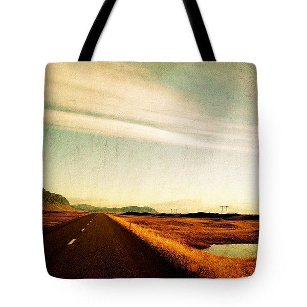 The Road Ahead Tote Bag