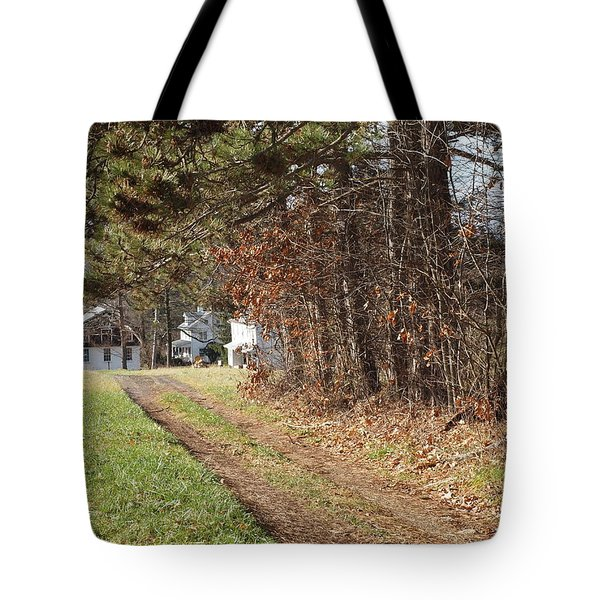The Road To Redemtion Tote Bag by Robert Margetts