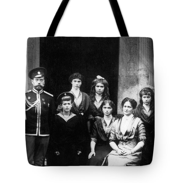 The Romanovs Tote Bag by Science Source