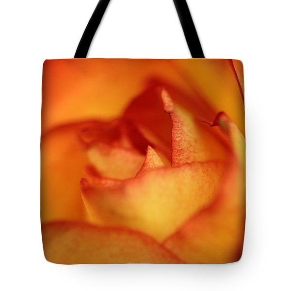 Tote Bag featuring the photograph The Rose by EricaMaxine  Price