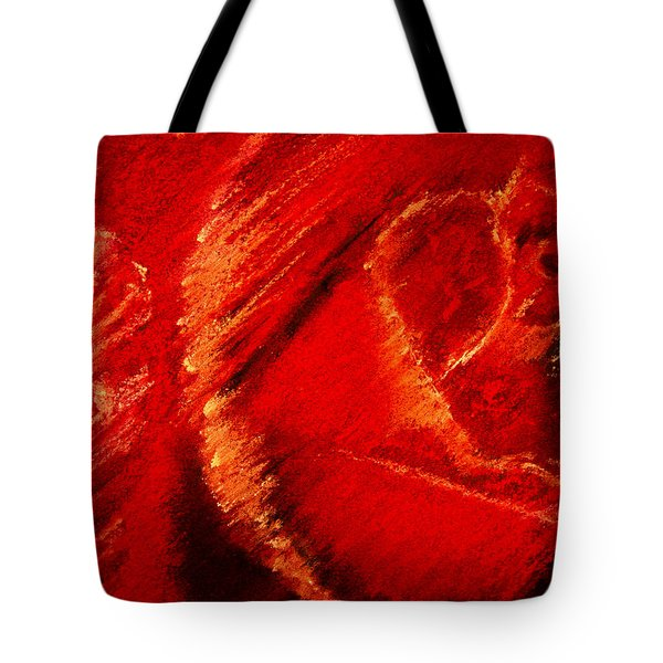 The Rose II Tote Bag by David Patterson