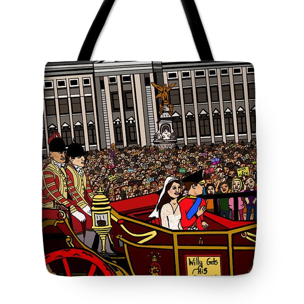 The Royal Wedding  Tote Bag by Karen Elzinga