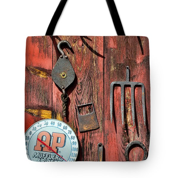 The Rusty Barn - Farm Art Tote Bag by Paul Ward