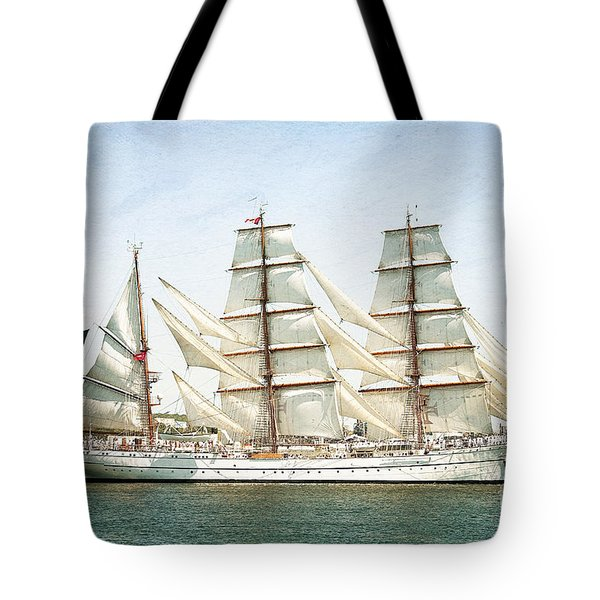 Tote Bag featuring the photograph The Sagres by Verena Matthew