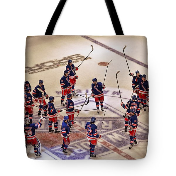 The Salute Tote Bag by Karol Livote