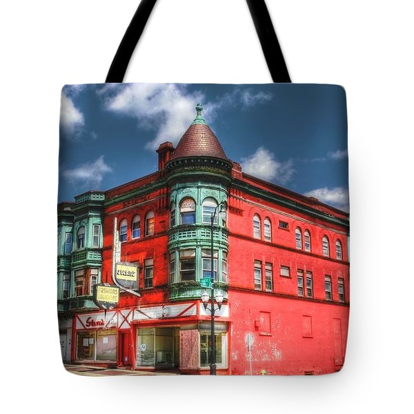 The Sauter Building Tote Bag by Dan Stone