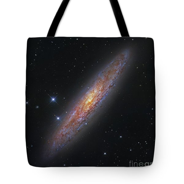 The Sculptor Galaxy, Ngc 253 Tote Bag by Robert Gendler