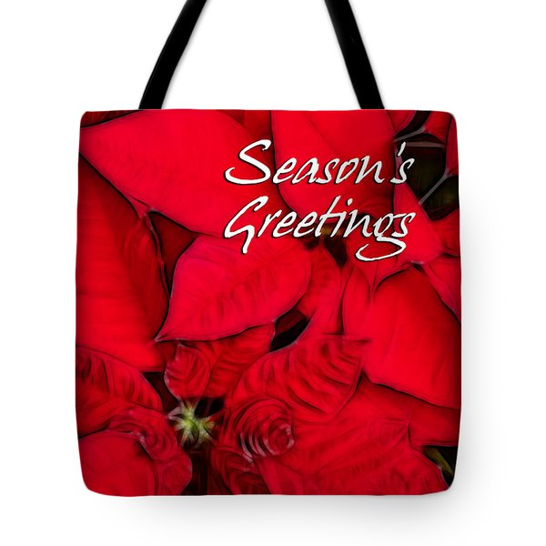The Season's Velvet Touch Tote Bag by Blair Wainman