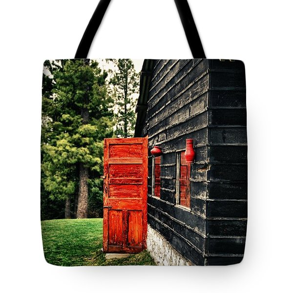 The Secret Inside Tote Bag by Syed Aqueel