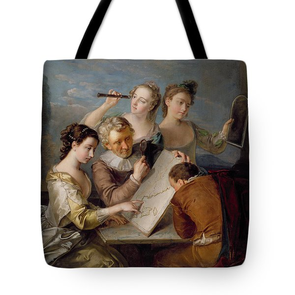 The Sense Of Sight Tote Bag by Philippe Mercier