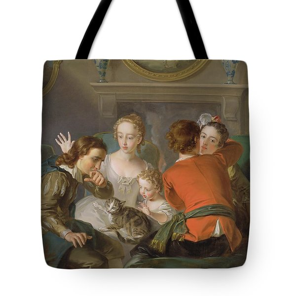 The Sense Of Touch Tote Bag by Philippe Mercier
