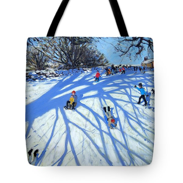 The Shadow Derbyshire Tote Bag by Andrew Macara