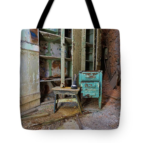 The Shoemaker Tote Bag by Paul Ward