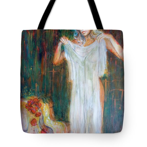 The Shroud Mary Magdalene Tote Bag