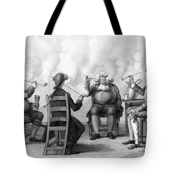 The Smoking Club Tote Bag by Granger