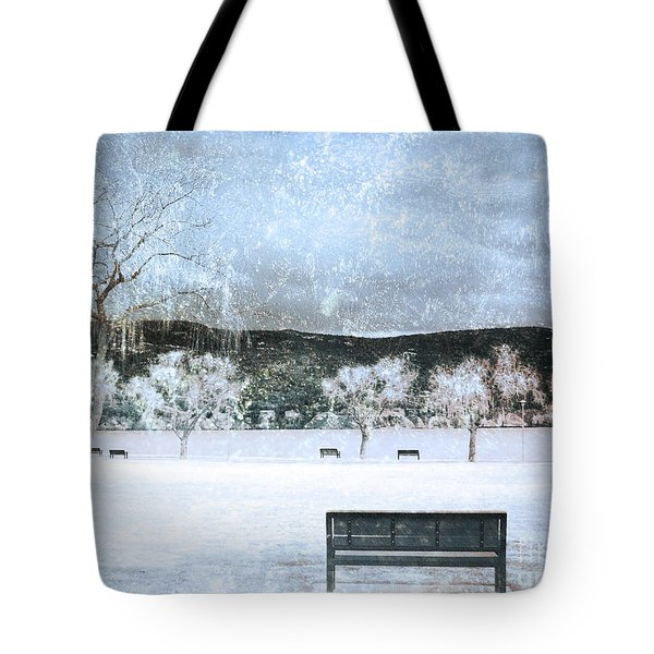 The Snow Storm Tote Bag by Tara Turner