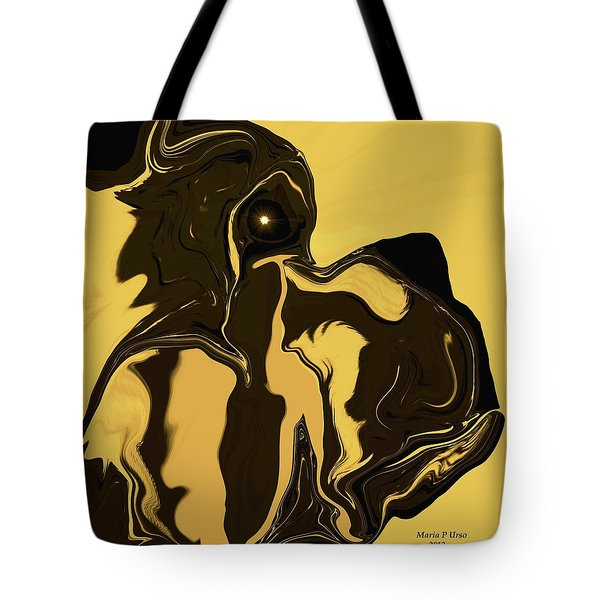 The Soulful Boxer Tote Bag by Maria Urso
