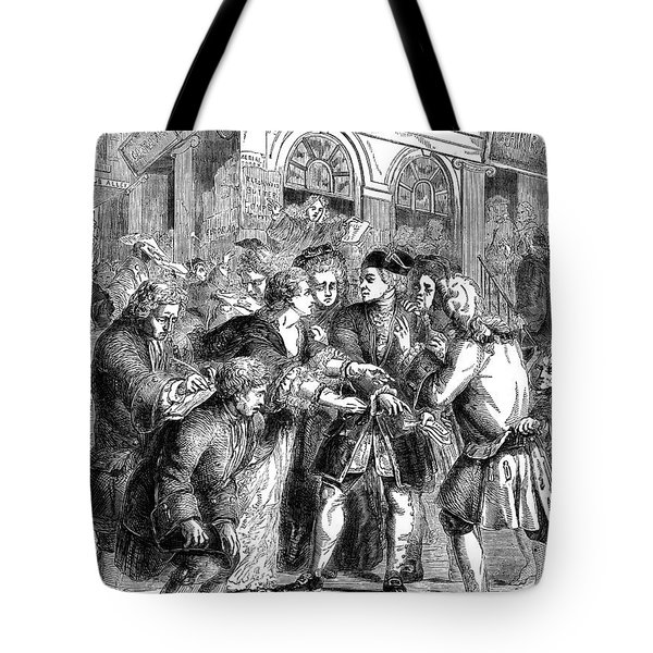 The South Sea Bubble, 1720 Tote Bag by Granger