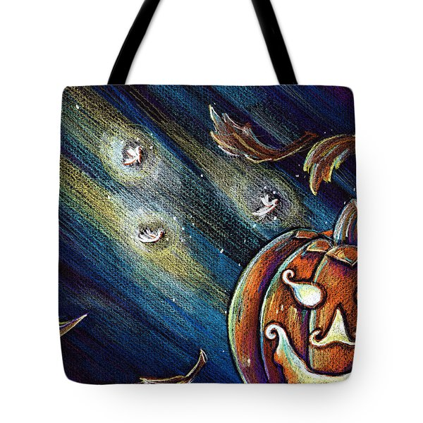 The Spirit Of Halloween Tote Bag