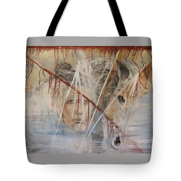 The Spirit Of Masauwu Tote Bag