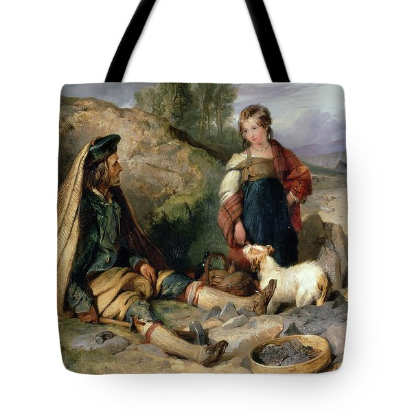 The Stone Breaker And His Daughter Tote Bag
